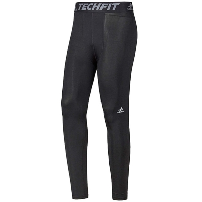 adidas Tf Base Tight 緊身 男 黑灰 @ Y!購物