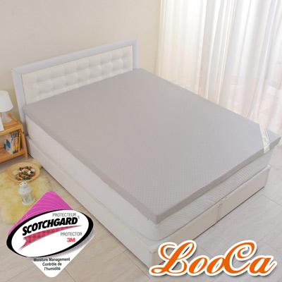 LooCa-經典超透氣5cm全記憶床墊-雙人