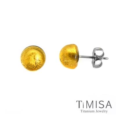 TiMISA 點點繽紛  純鈦耳環一對(5色可選)