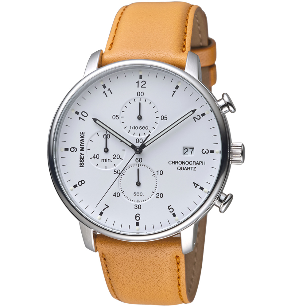 ISSEY MIYAKE三宅一生C系列計時腕錶(VD57-0620J NYAD004Y)