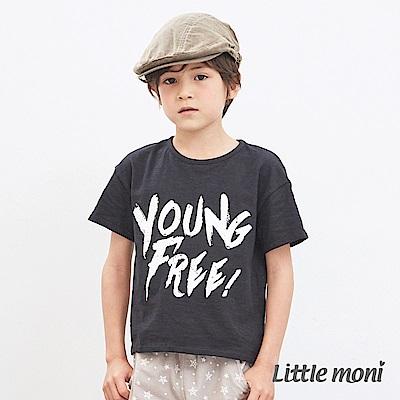 Little moni 休閒印圖上衣 (2色可選)