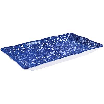 EXCELSA Oriented瓷餐盤(花卉藍20cm)