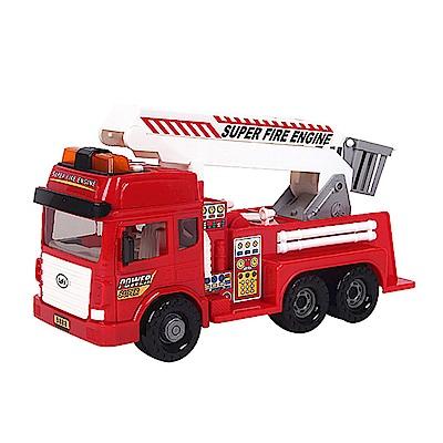 Amuzinc酷比樂 兒童玩具 磨輪動力車 聲光長臂消防車 9888