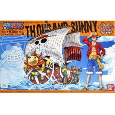 【BANDAI】代理版 航海王組合模型/偉大之船 千陽號 Thousand Sunny