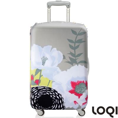 LOQI 行李箱套│牡丹L號 適用28吋以上行李箱保護套
