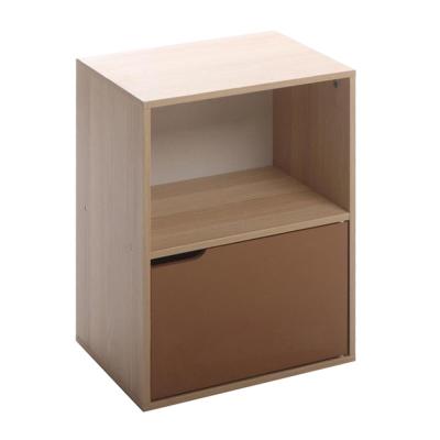 悅家居 空間大師典雅雙格櫃-40x29x54cm