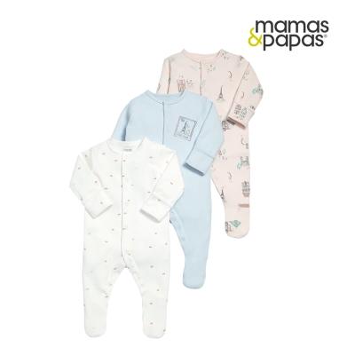 Mamas & Papas WTTW 巴黎艾菲爾連身衣3件組