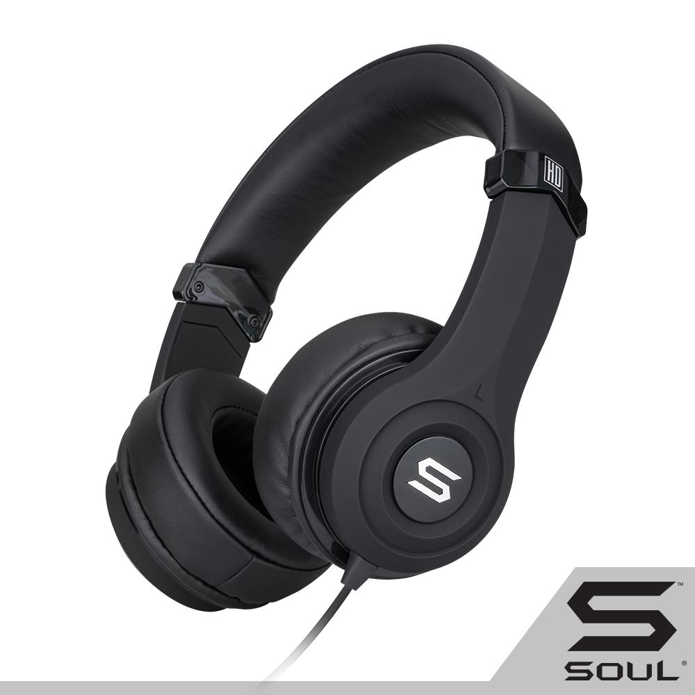 SOUL ULTRA 時尚重低音頭戴式耳機-黑 @ Y!購物