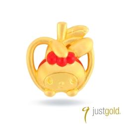 鎮金店Just Gold 黃金單耳耳環 白雪公主Melody