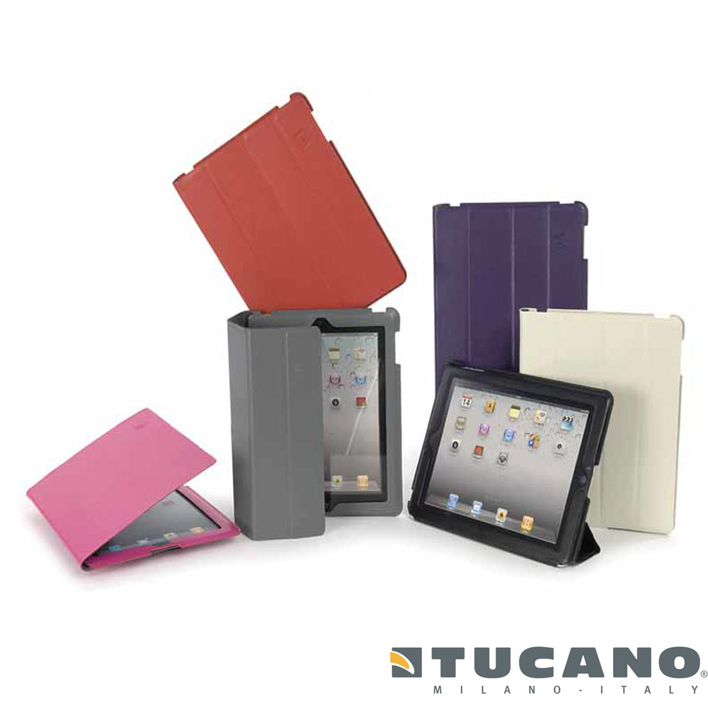 TUCANO Cornice iPad 2 / New iPad 漾彩皮革保護皮套