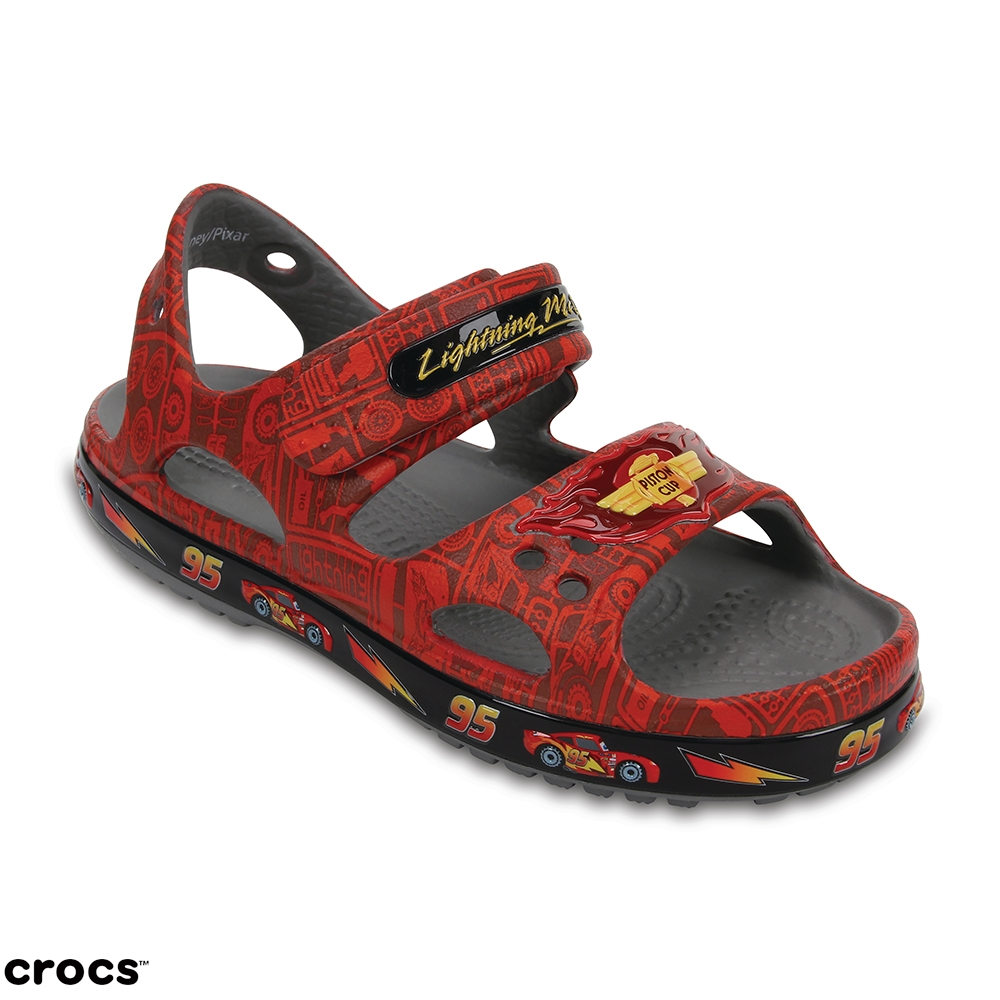 Crocs 卡駱馳 (童鞋) 麥昆小涼鞋 204735-8C1