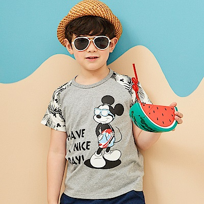 Disney 米奇系列歡樂海灘拉克蘭上衣 (共2色)