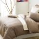 Cozy inn 簡單純色 咖啡 雙人6X7尺 200織精梳棉被套 product thumbnail 1