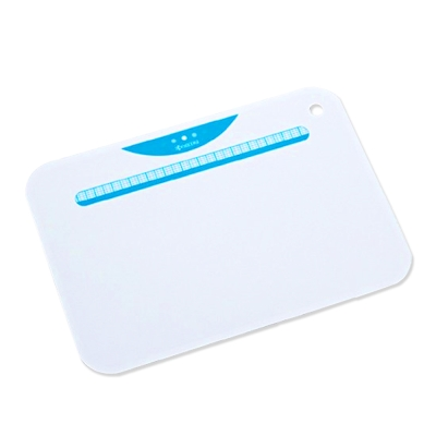 【KYOCERA】日本京瓷抗菌砧板(白底藍)