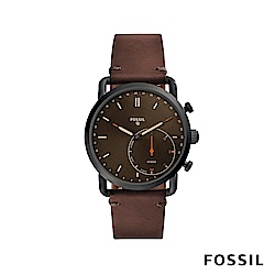 FOSSIL Q COMMUTER 智能錶-深棕色