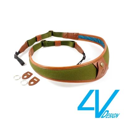 4V ALA系列相機背帶 LU-CV2723-綠褐/棕(L)