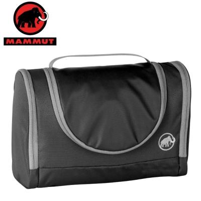 【MAMMUT 長毛象】Washbag Roomy 可掛式旅行盥洗包.隨身化妝包/黑