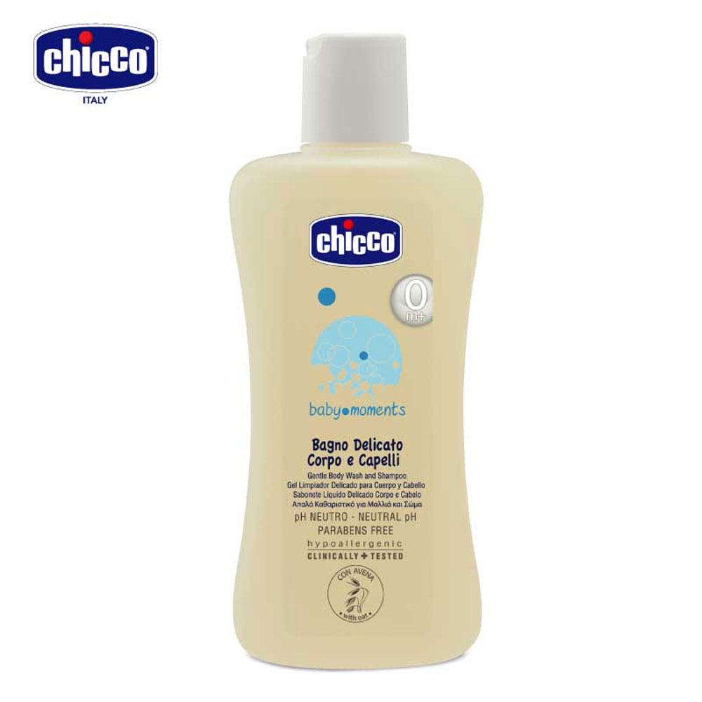 chicco-寶貝嬰兒溫和洗髮/沐浴露(初生寶寶專用)200ml