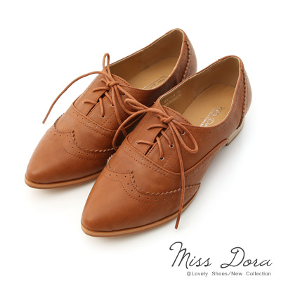 Miss-Dora-時髦英倫-棕