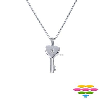 彩糖鑽工坊 鑰匙 KEY 鑽石項鍊 愛情鑰匙系列