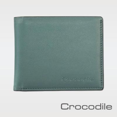 Crocodile Calf-Waxy系列抽取式短夾 0103-08704