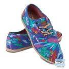 TOMS 天堂鳥休閒鞋-女款(藍)