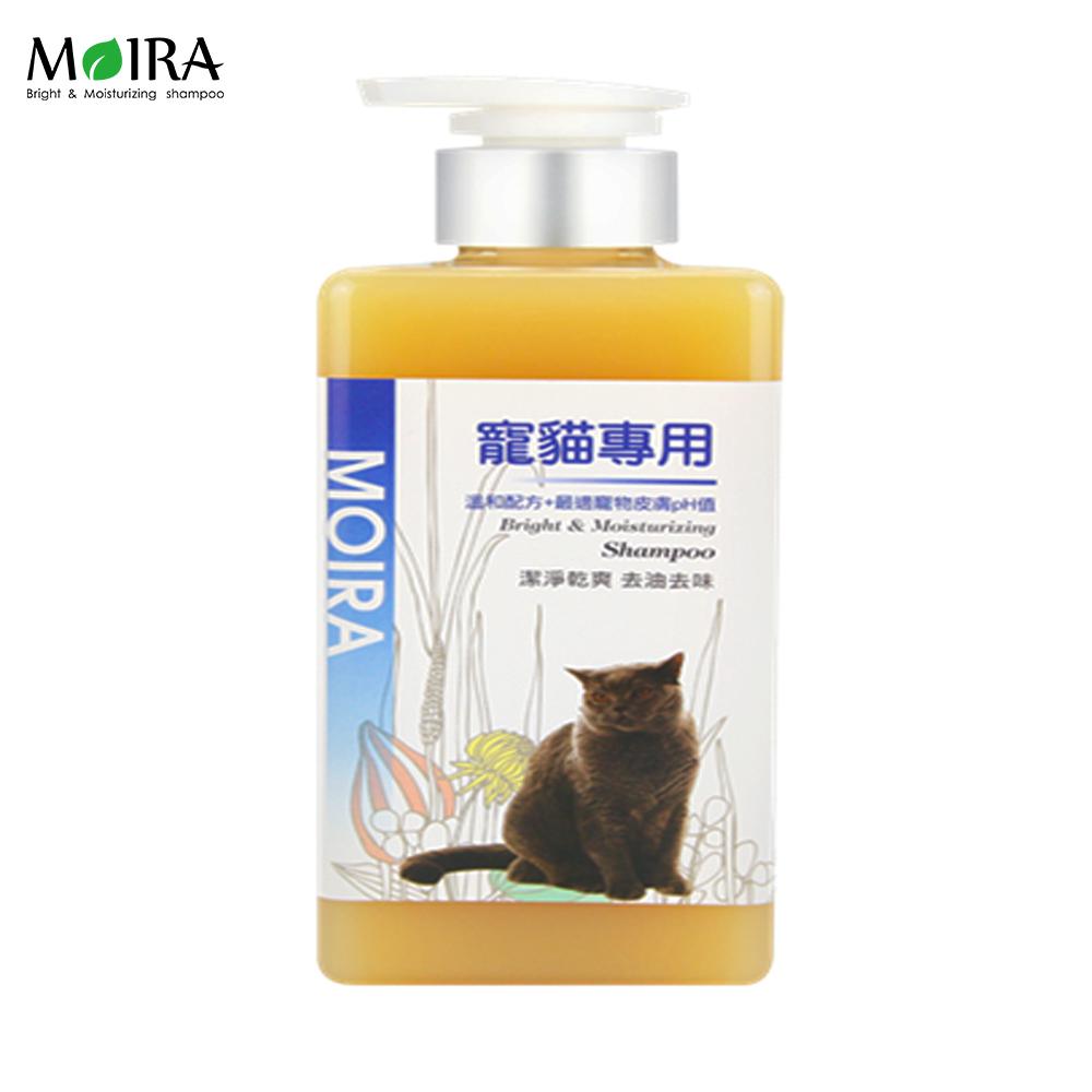 MORIA莫伊拉 極緻精華 溫和配方洗毛精 - 寵貓專用 500ml X 1瓶