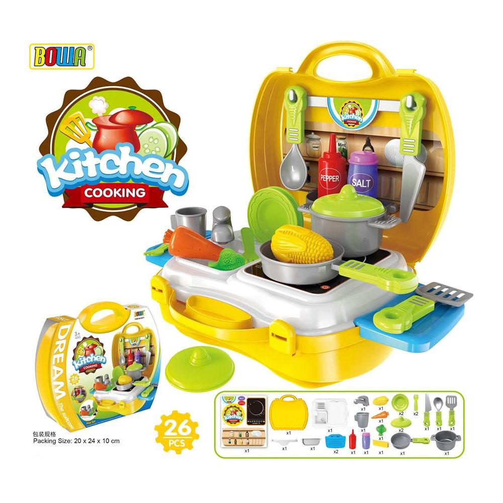 手提夢幻廚具 家家酒系列玩具 Amuzinc酷比樂 8311