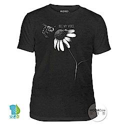 【摩達客】美國The Mountain保育系列 蜜蜂之音 中性短袖T恤