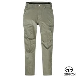 GIBBON 防曬超輕薄四面彈力長褲‧暗卡其M~3L