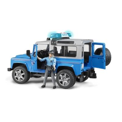 BRUDER 1:16 Land Rover 警用越野車