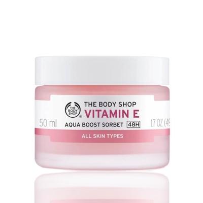 (即期品)The Body Shop 維他命E潤澤保水冰沙50ML