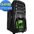(無卡分期12期)技嘉B360平台[精武虎魂]i3四核GTX1060獨顯電玩機