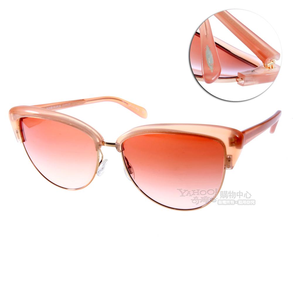 OLIVER PEOPLE太陽眼鏡 好萊塢星鏡/復古粉紅玫瑰色#ALISHA 1361