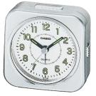 CASIO 桌上型指針鬧鐘(TQ-143S-8)-銀色