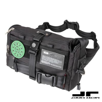 JimmyRacing五口袋休閒運動包戶外單肩包多用腰包