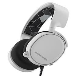 SteelSeries Arctis 3 耳機麥克風(白)