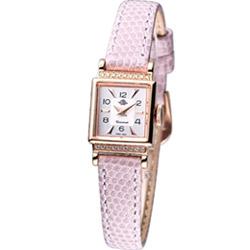 Rosemont 諾依斯特系列時尚腕錶-白/粉/16mm