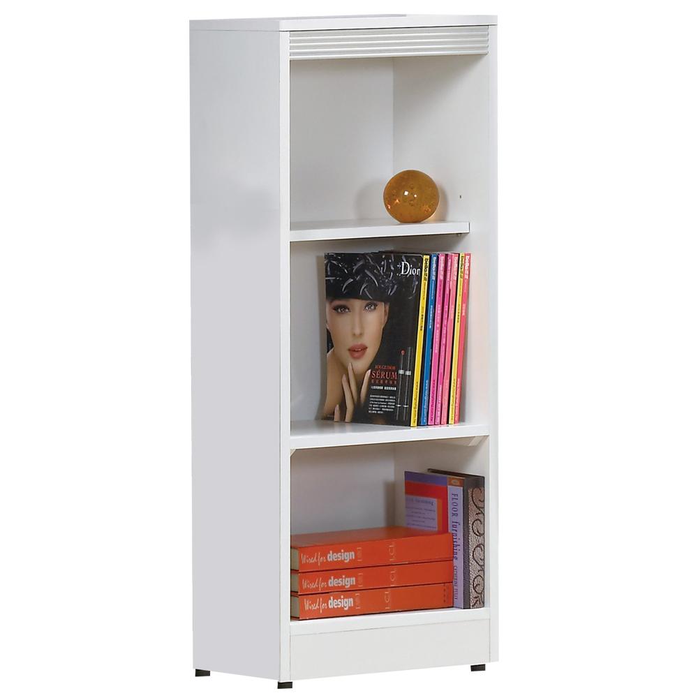 時尚屋 布萊尼1.3x3.5尺開放書櫃 寬39.5cm
