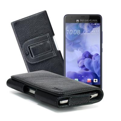 XM HTC U Ultra/G6/ZenFone AR/A59 麗緻真皮腰掛皮...