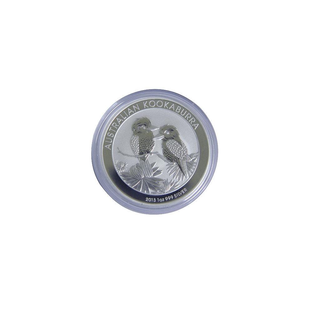 澳洲生肖紀念幣 2013笑鴗鳥銀幣 (1盎司)