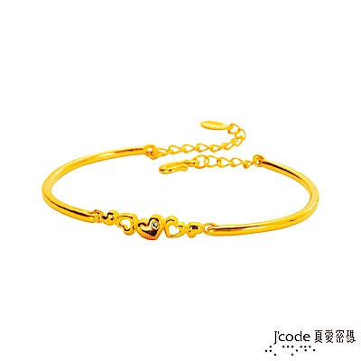J'code真愛密碼 愛的緣分黃金手環