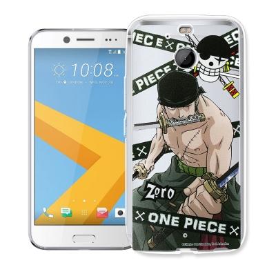 航海王 HTC 10 evo 5.5吋 透明軟式手機殼(封鎖索隆)