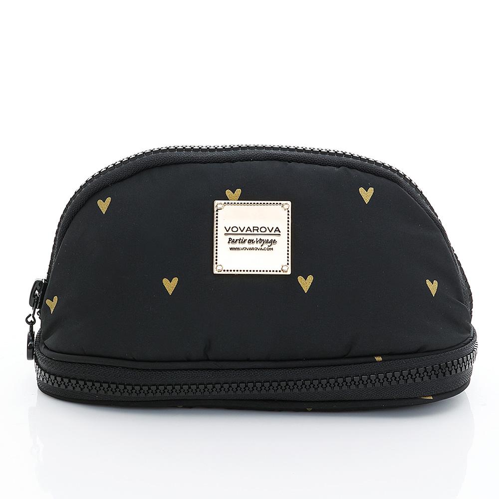 VOVAROVA空氣包-刷具化妝包-心空閃耀(黑)
