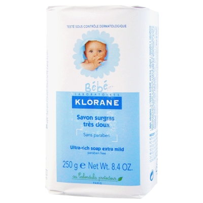 KLORANE bebe蔻蘿蘭寶寶 保濕乳霜皂250g