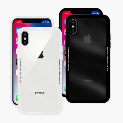 LUCCIDA Apple iPhone X 玻璃9H抗刮背蓋