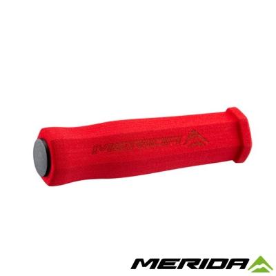 《MERIDA》美利達 2058033953 自行車握把 紅