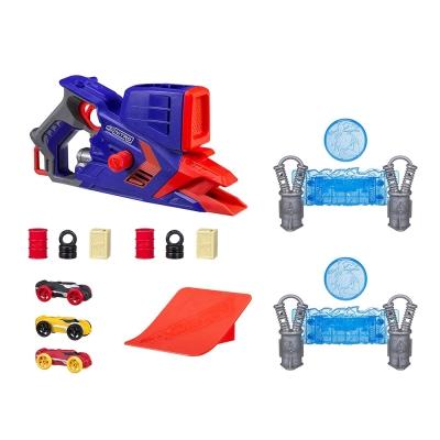 孩之寶Hasbro NERF系列 兒童射擊玩具 Nitro 極限射速賽車多重發射豪華組