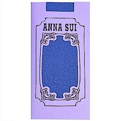 ANNA SUI 銀蔥靜電防止加工半統襪(寶藍色)