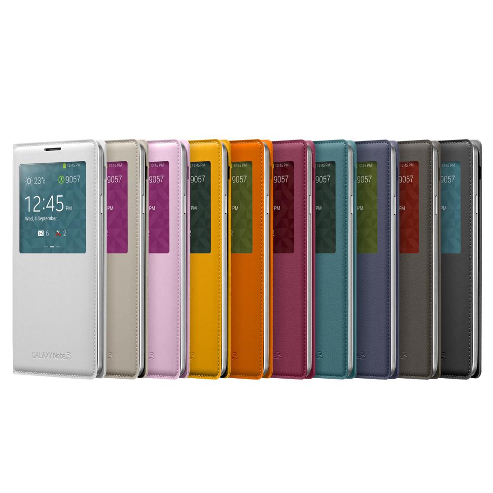 Samsung GALAXY Note 3 (N900)原廠透視感皮套